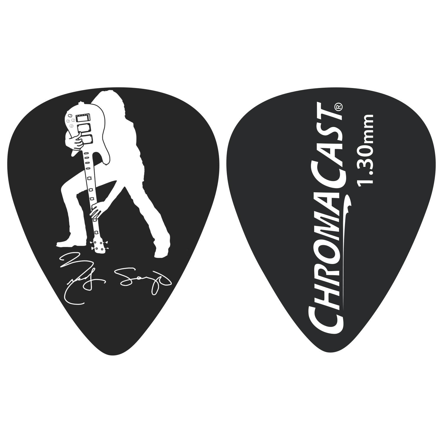 Rudy Sarzo Signature 1.3mm Picks