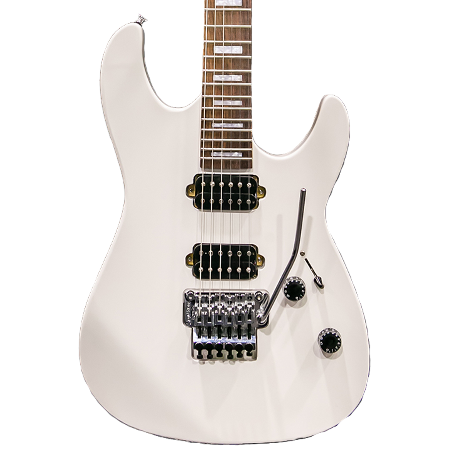 Satin White ST-M24 with Floyd Rose Original