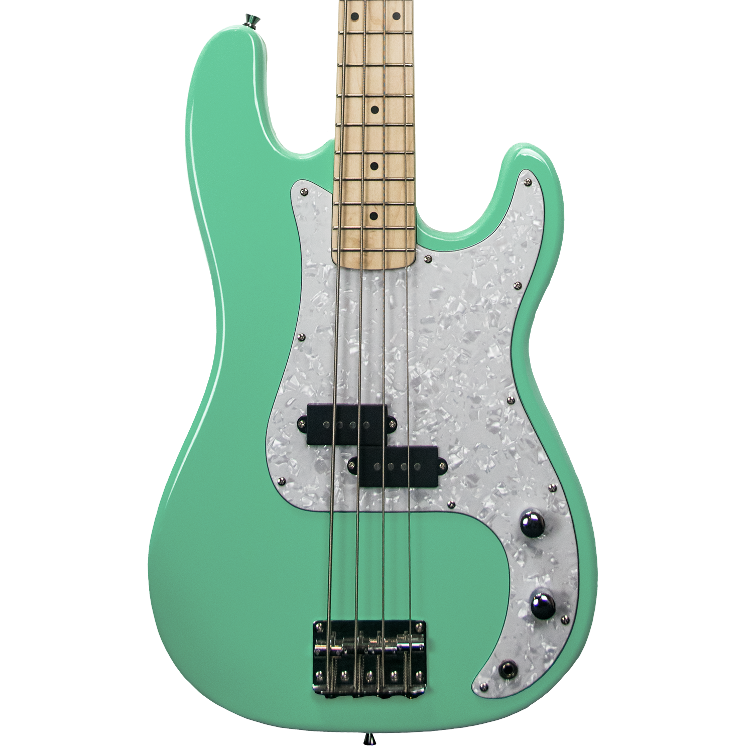Surf Green w/ White Pearloid