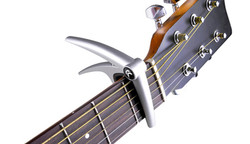ChromaCast Capo on Guitar