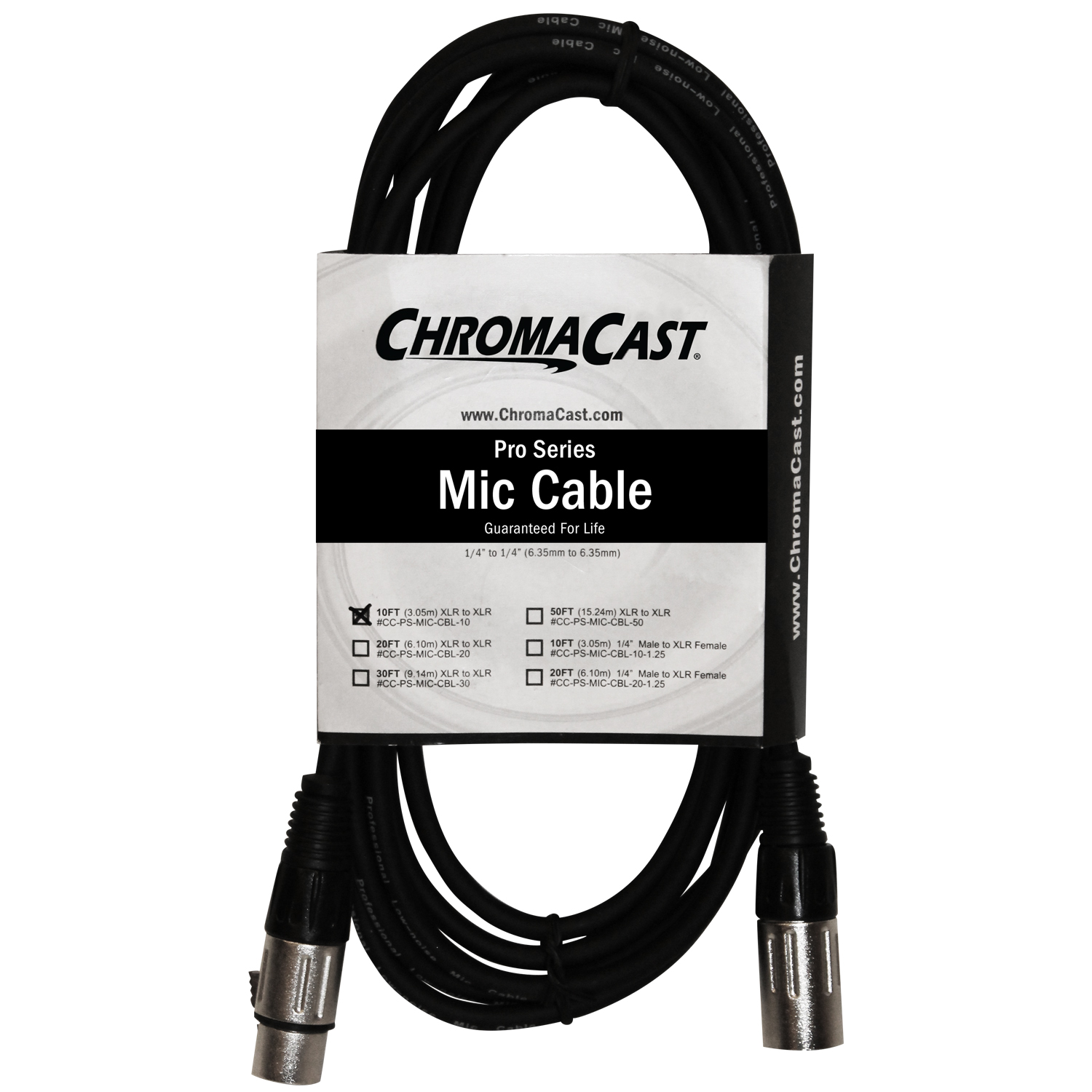 10ft XLR to XLR Mic Cable
