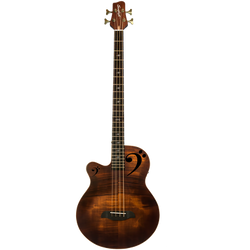 Fretted Acoustic-Electric Bass, LH