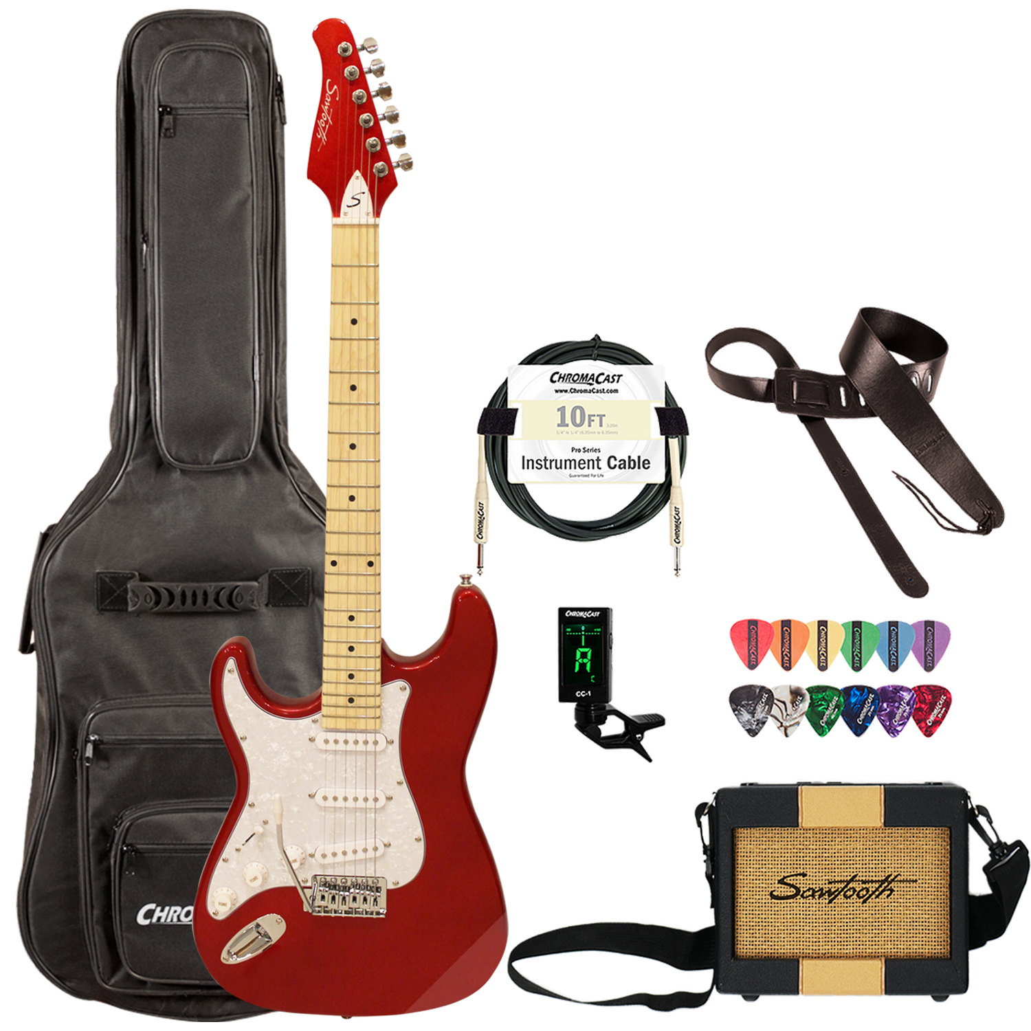 Candy Apple Red Travel Bundle