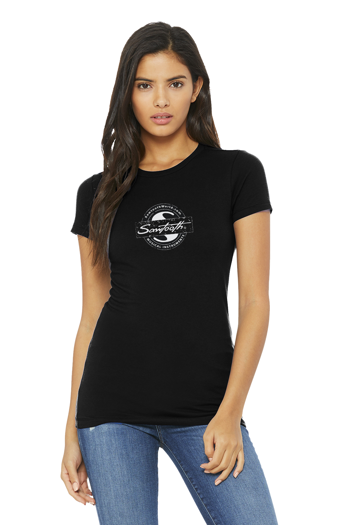 Sawtooth Logo Stamp Women's Tee
