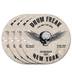 Drum Freak Round Coaster