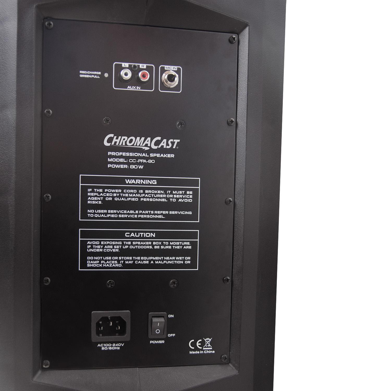 80 Watt Rechargeable Speaker