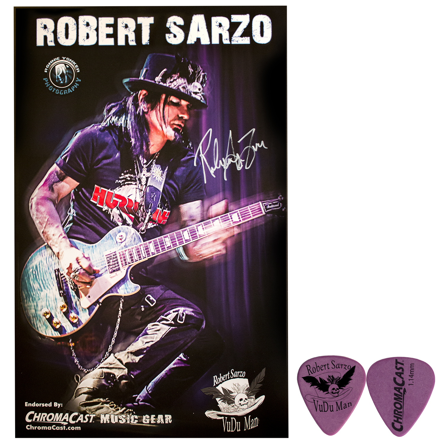 Robert Sarzo Signed Poster Pack