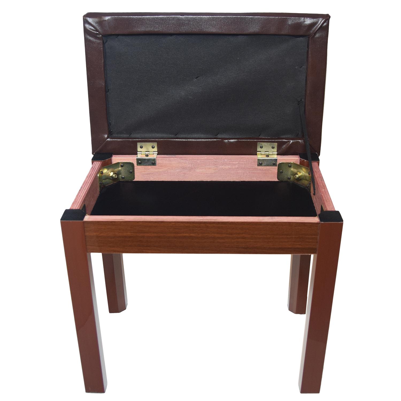 Single Seat Bench - Walnut