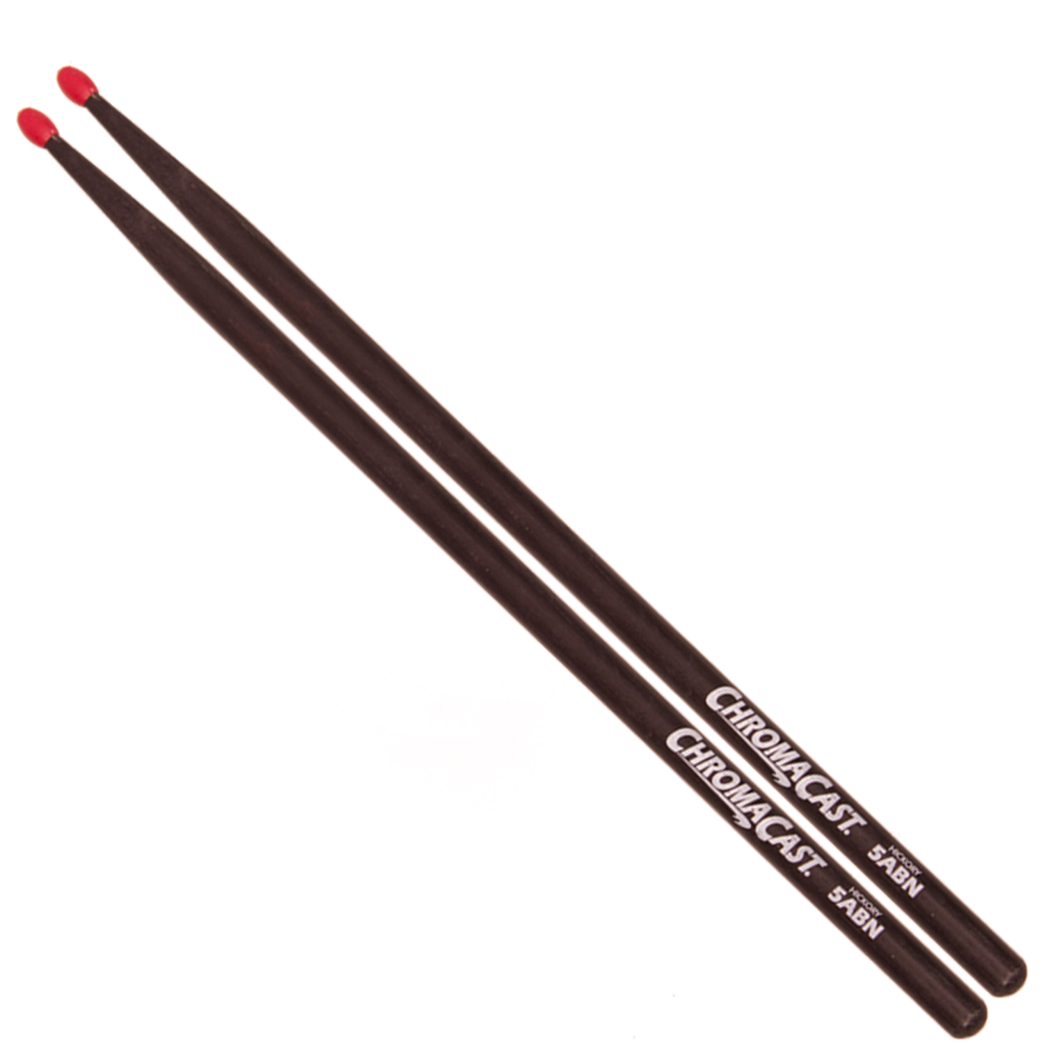 5A Black Drumsticks - Nylon Tip