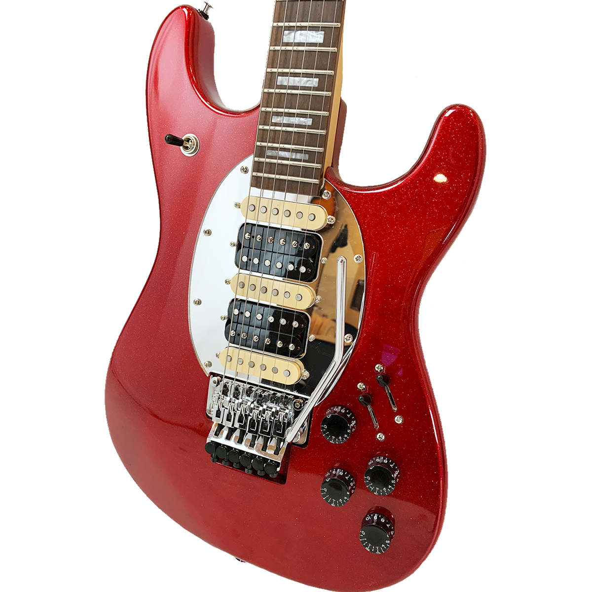 Blood Red Sparkle ES Hybrid