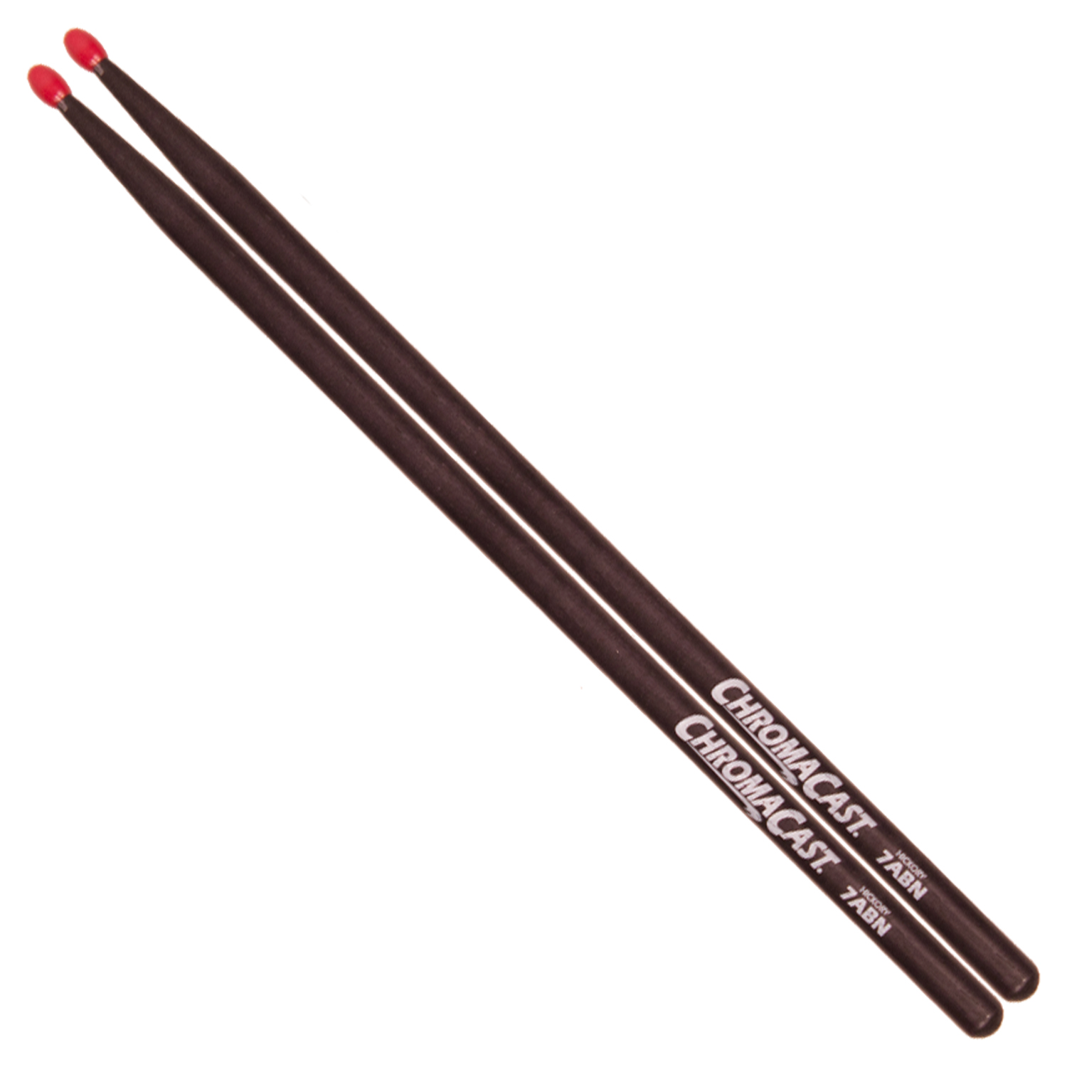 7A Black Drumsticks - Nylon Tip