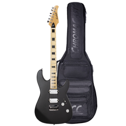 Americana Modern M24, Satin Black - Right Handed with Gig Bag