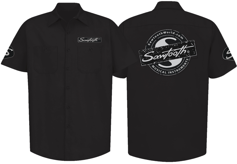 Sawtooth Work Shirt, Black