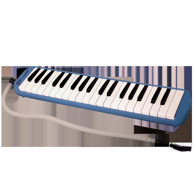 Blue 37 Key Melodica