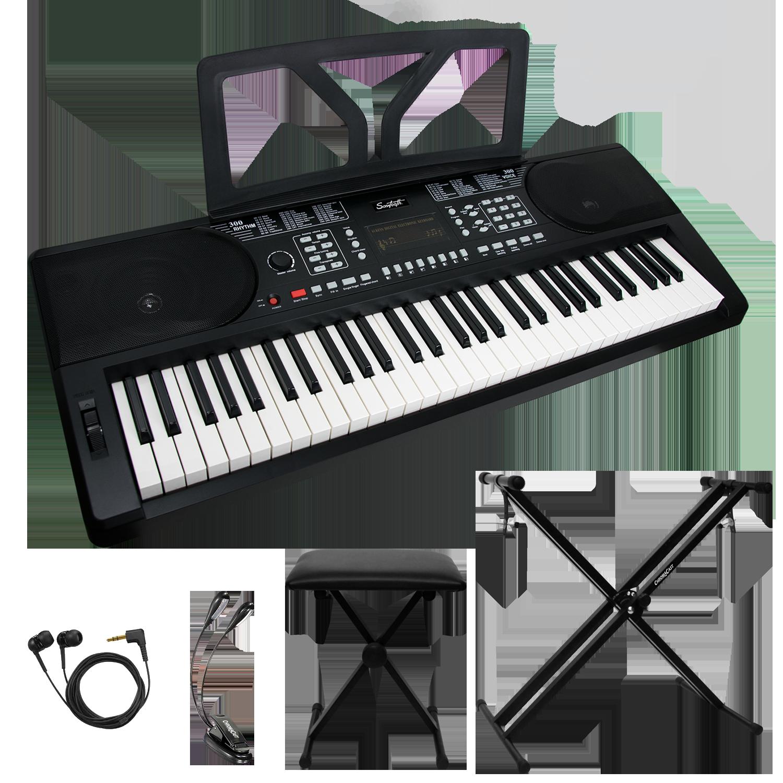 61 Key Portable Keyboard Kit