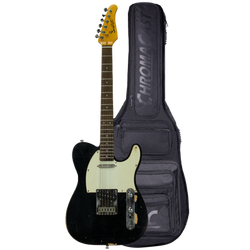 Black ET Relic with Aged White Pickguard