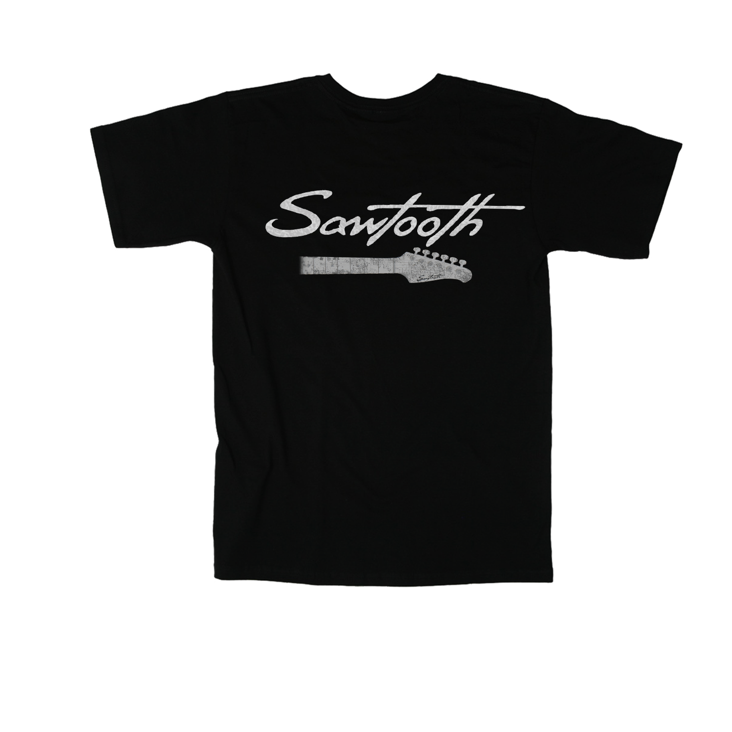 Sawtooth Logo Guitar Neck Tee