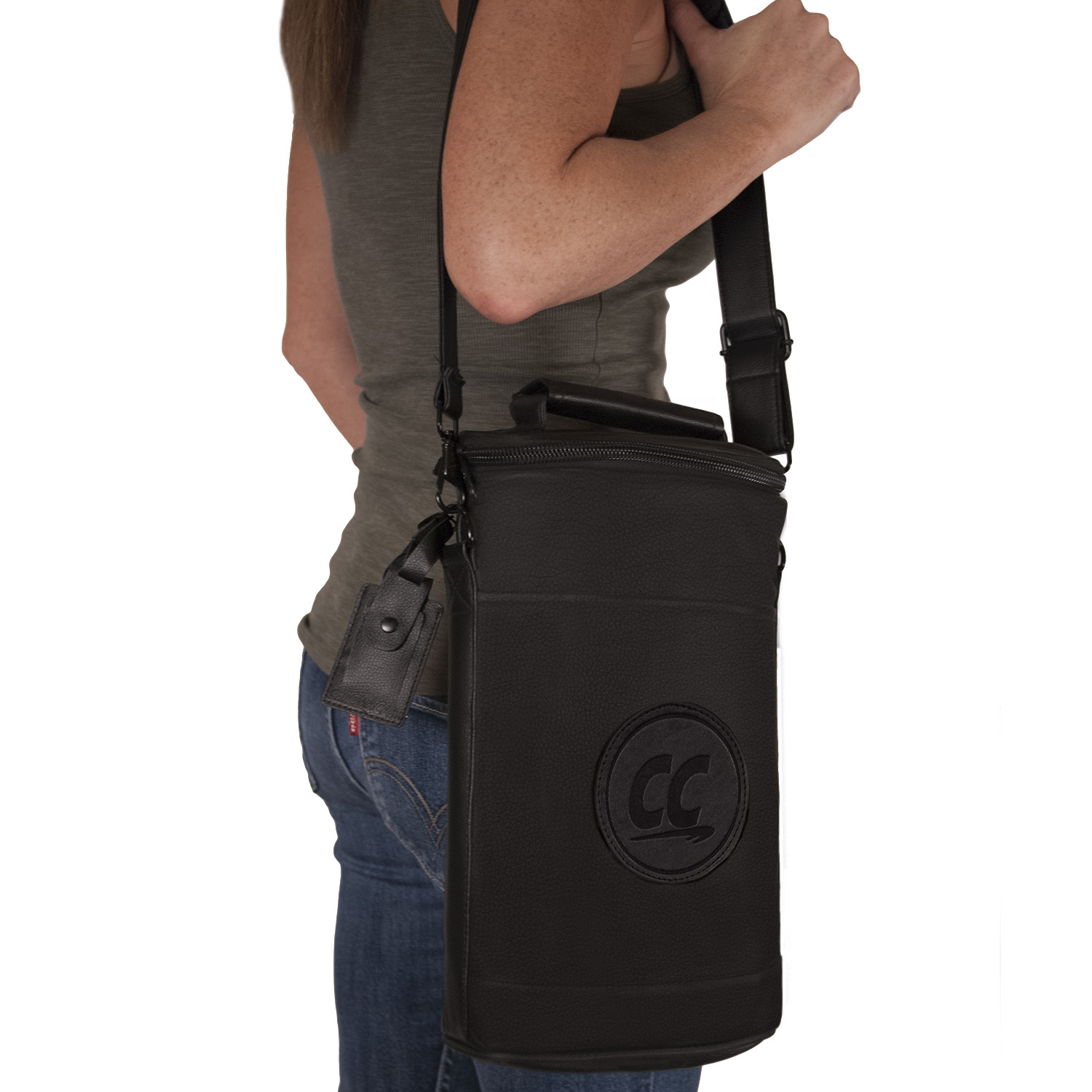 Wine Travel Carrier - PU Leather
