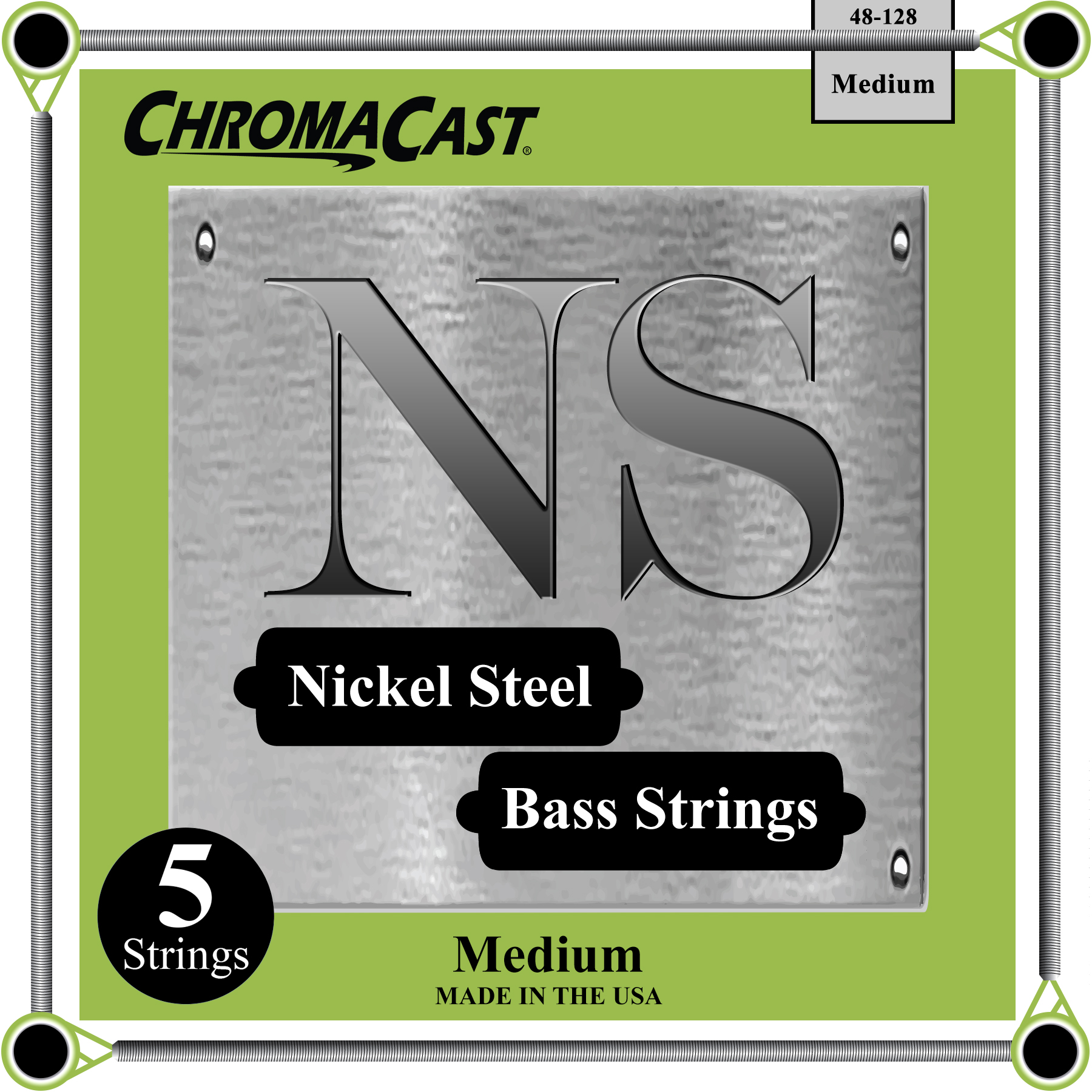 Bass 5 String - Medium Gauge