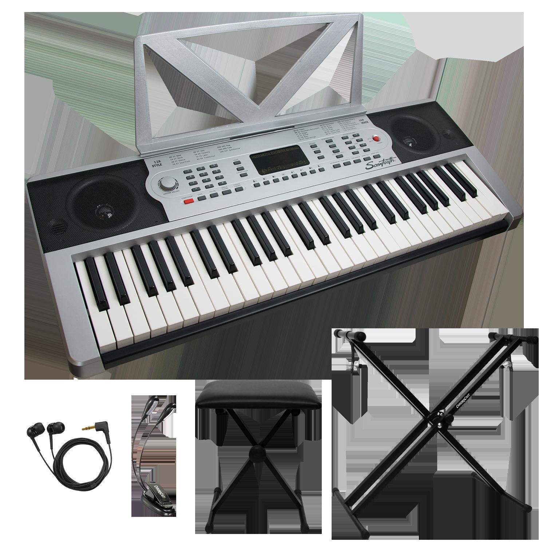 54 Key Portable Keyboard Kit
