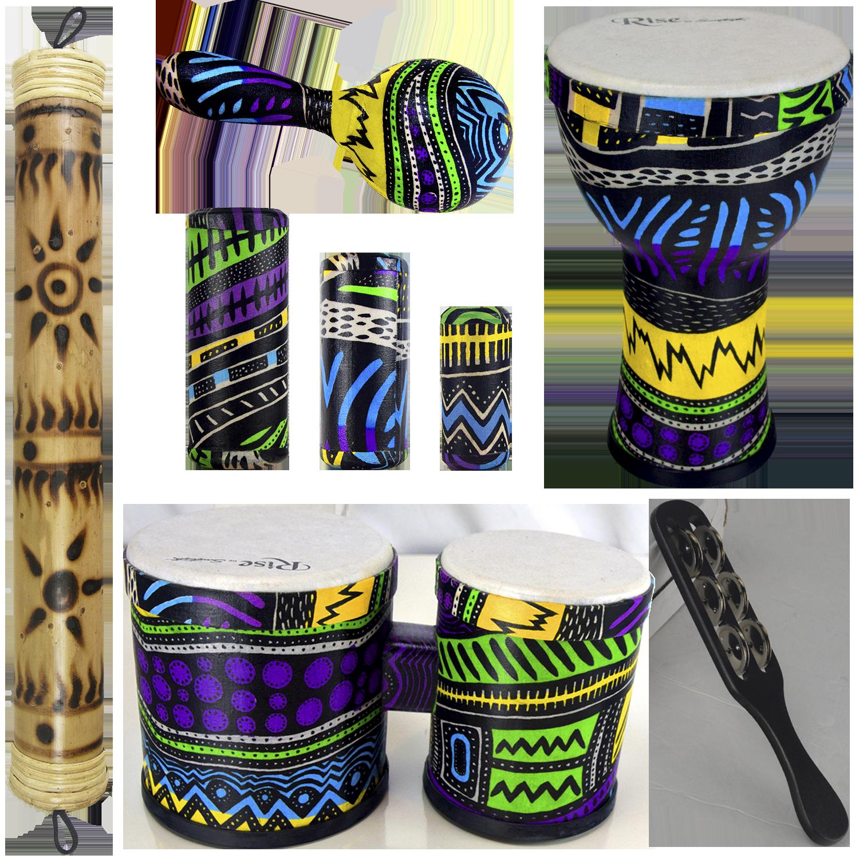 Jamaican Me Crazy Percussion Set 4