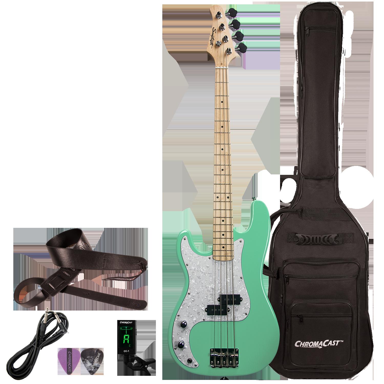 Left-Handed Surf Green w/ Pearloid Pickguard Kit
