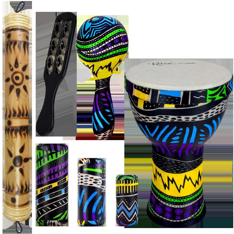 Jamaican Me Crazy Percussion Set 3