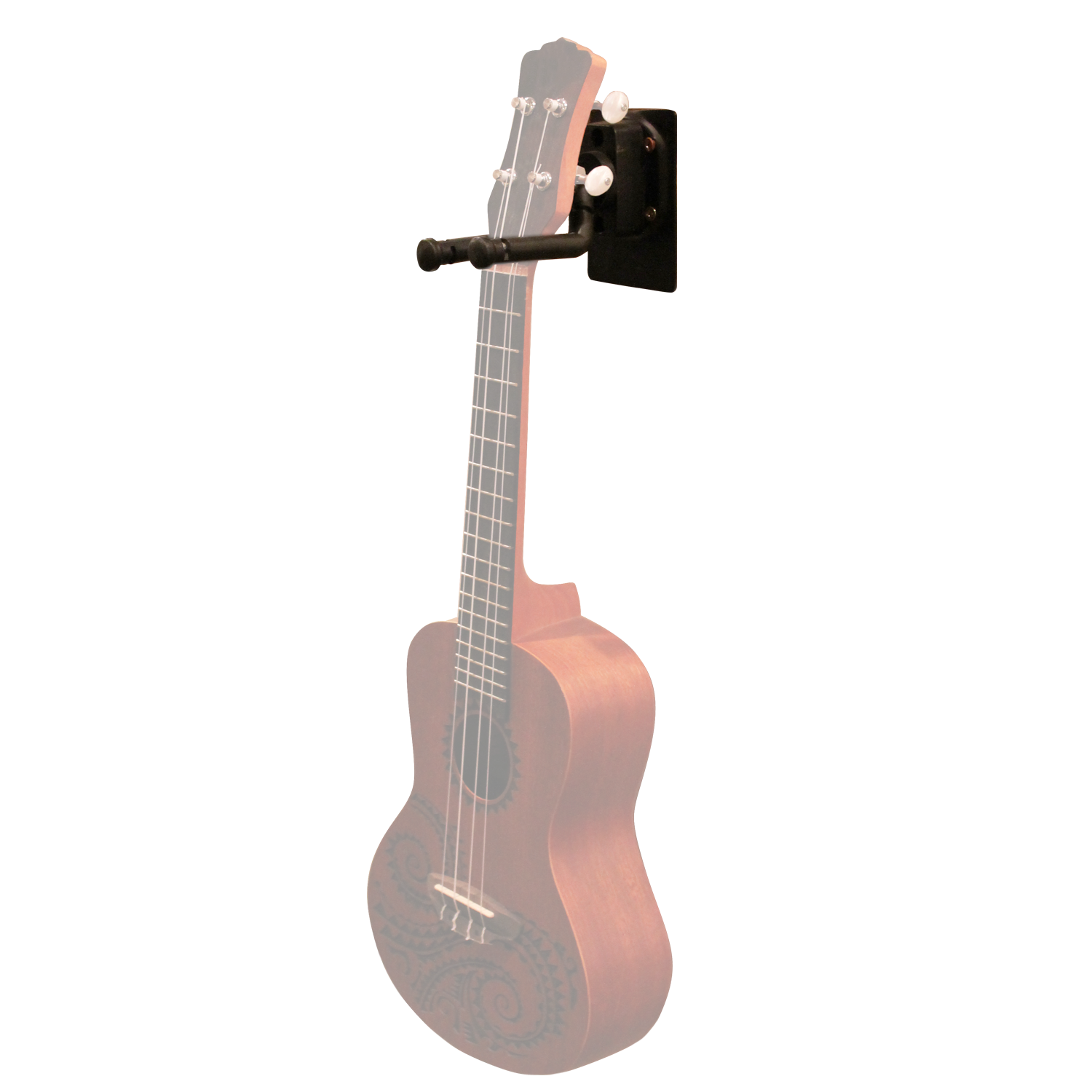 Wall hanger with Ukulele