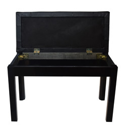 Double Seat Bench - Black