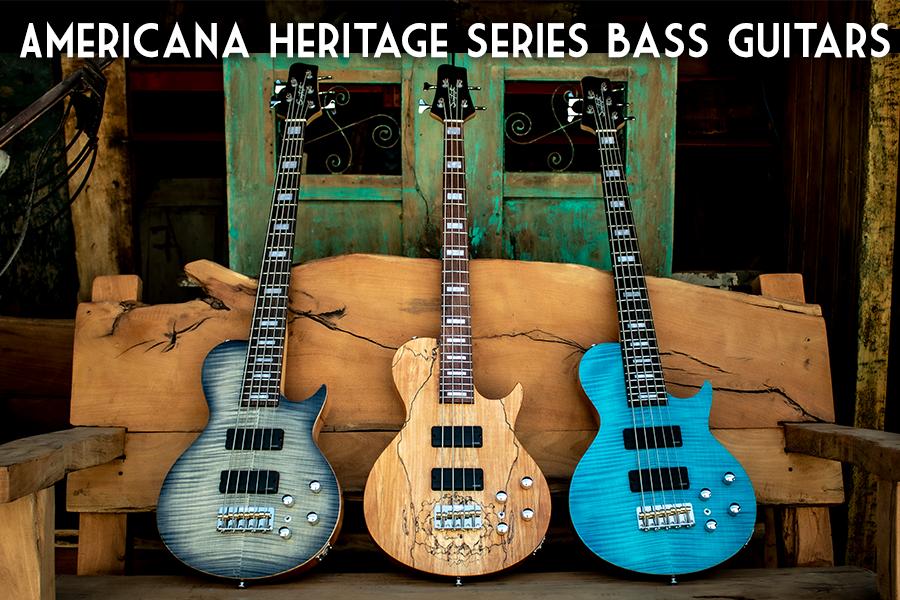 Americana Heritage Series Bass Guitars c