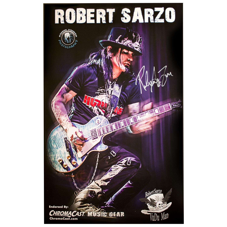 Robert Sarzo Signed Poster