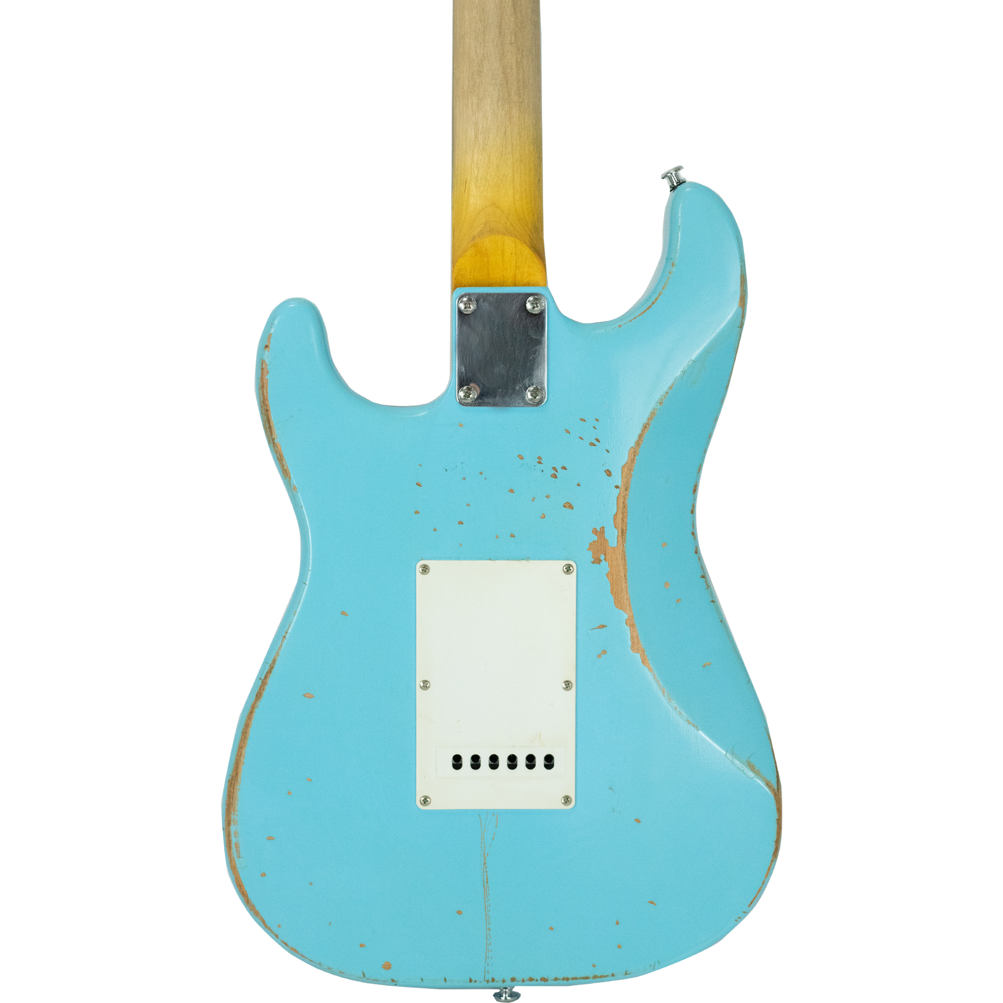 Aero Blue ES Relic with Tortoise Pickguard