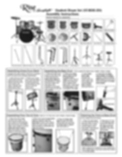 Rise by Sawtooth Drum Assembly Instructions Page 1
