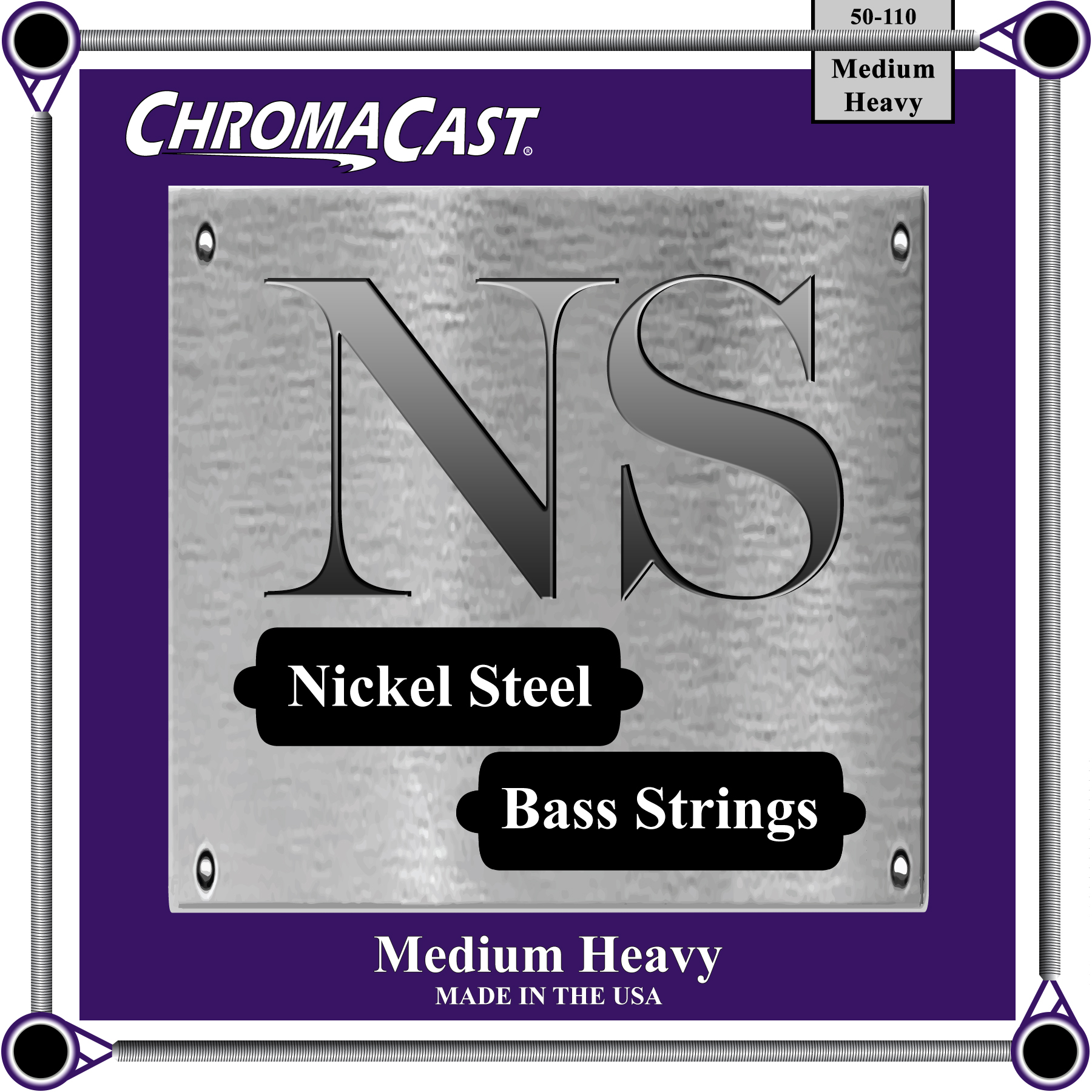 Bass 4 String - Medium Heavy Gauge