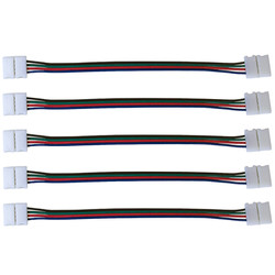 """LED Light 6"""" Connector, 5 Pack"""
