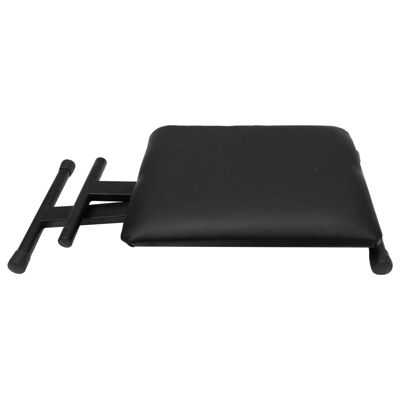 Folded Padded Keyboard Bench