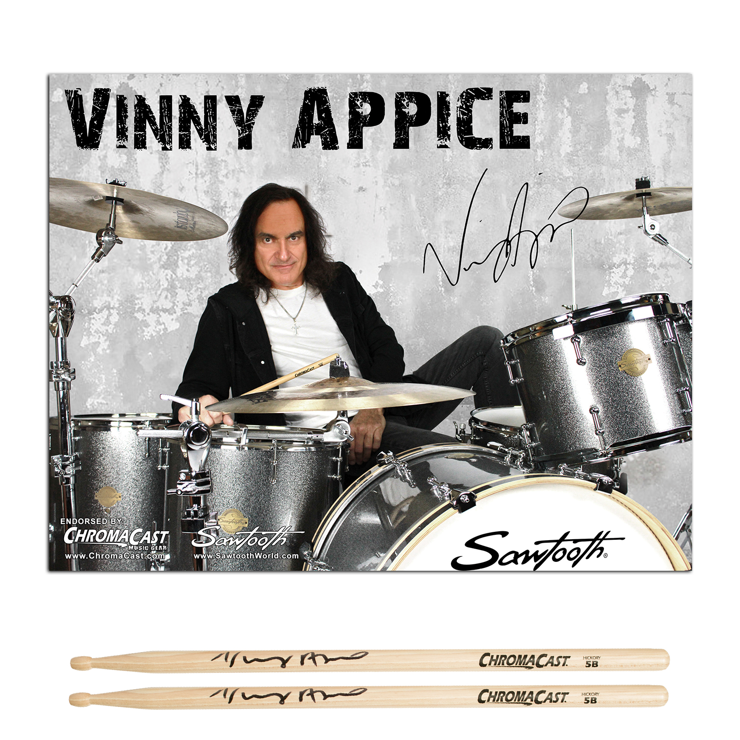 Vinny Appice Poster Pack, Natural 5B