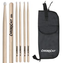 5B USA Hickory Drumsticks- Nylon Tip