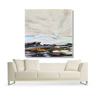 couch oil white wter wave with rocks.jpg