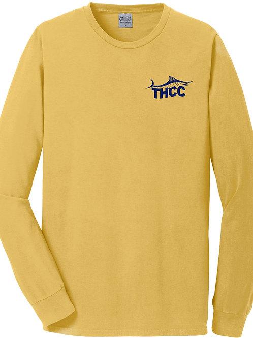THCC Adult Beach Wash Long-Sleeve T-Shirt