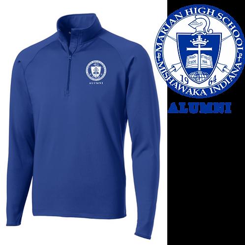 Alumni Quarter Zip Pullover (Traditional Logo)
