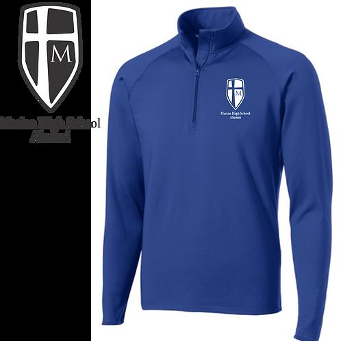 Alumni Quarter Zip (Shield Logo)