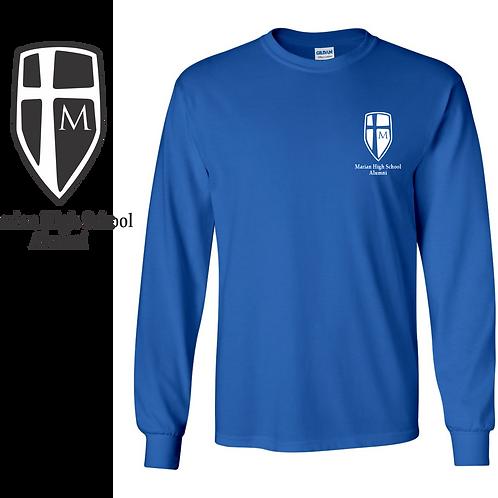Alumni Long Sleeve T-shirt (Shield Logo)