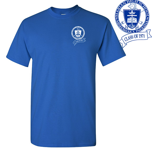 Class of 71 - Short Sleeve T-shirt (Traditional Logo)