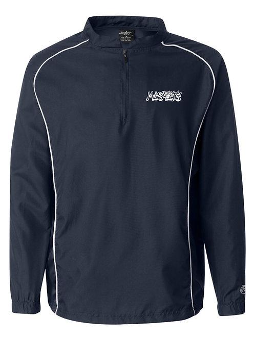 Misfits Softball Poly Quarter-Zip Pullover