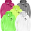 Thumbnail: St. Joe County 911 Pride Full-Zip Hooded Sweatshirt