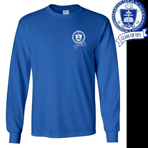 Class of 71 - Long Sleeve T-shirt (Traditional Logo)