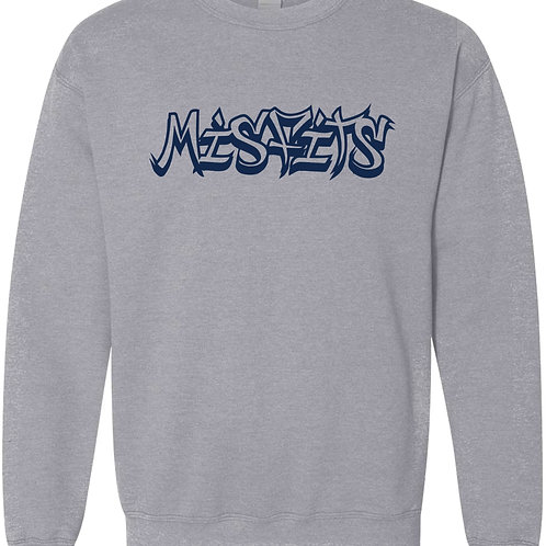 Misfits Softball Crewneck Sweatshirt