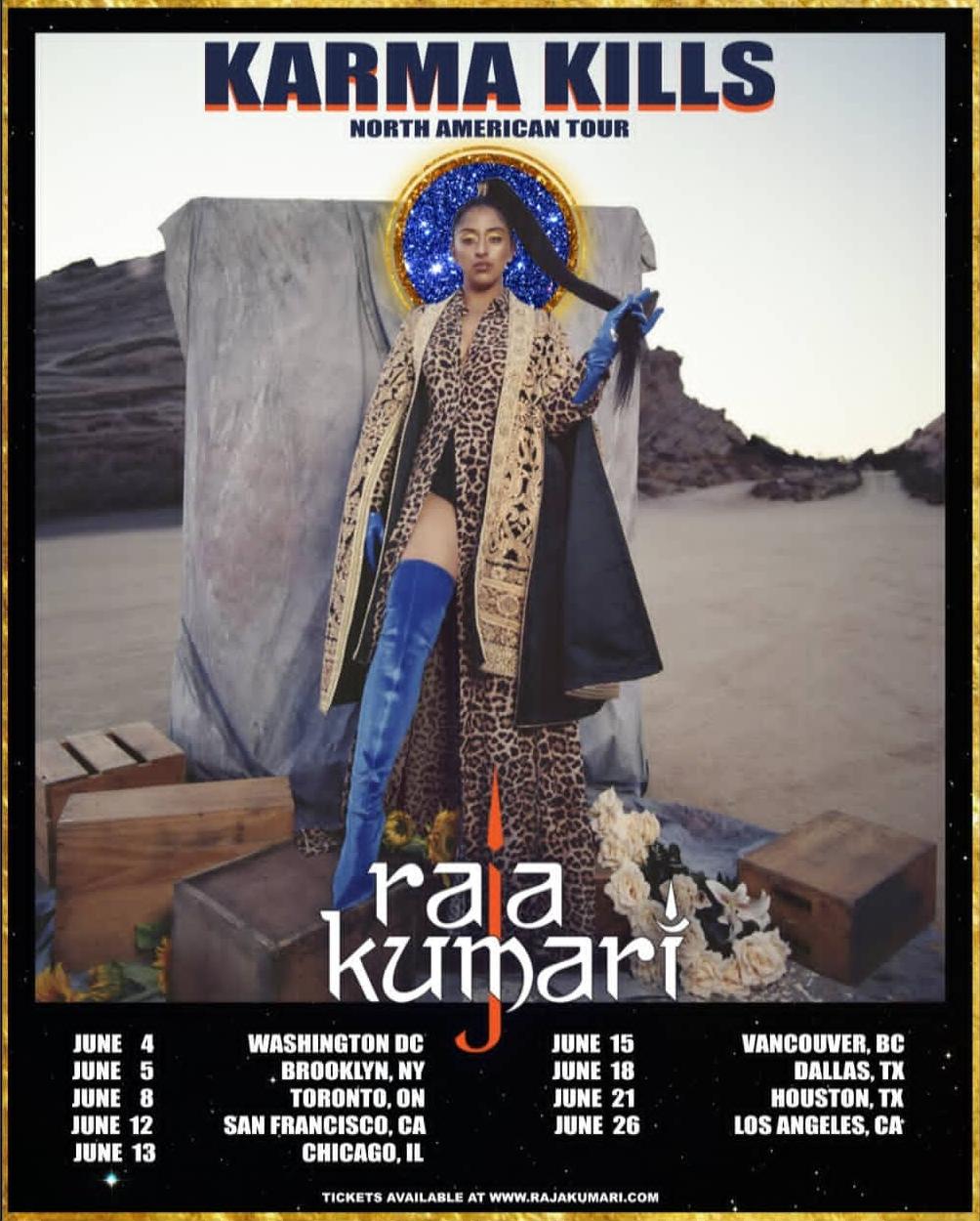 KARMA KILLS NORTH AMERICAN TOUR