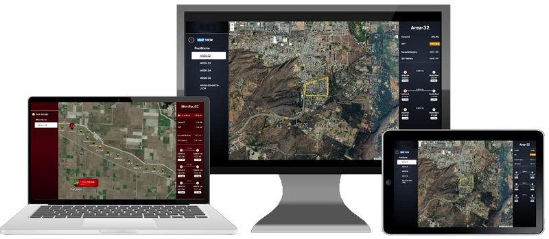 miJAGA is a single screen interface acting as a Command & Control Platform. All security systems at field are managed by miJAGA over JAGAnet.   miJAGA is the data layer which uses advanced AI algorithms to make it smarter and think analytically.